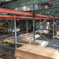 Structural Steel Pallet Flow Rack (3-Deep)