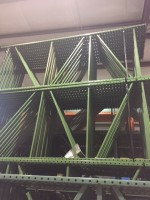 Used Interlake TearDrop Pallet Rack