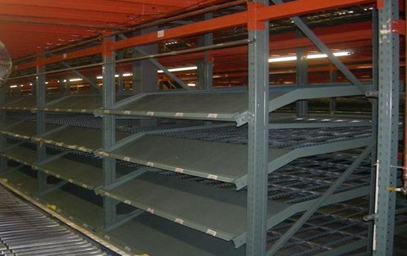 Used interlake carton flow rack used pallet racking for Warehouse racking design software