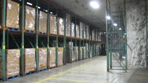Americold AFTER, with pallet rack from Outsource Equipment